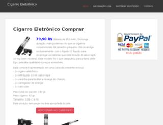 cigarroeletronicocomprar.com screenshot