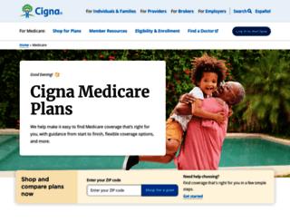 cignahealthspring.com screenshot