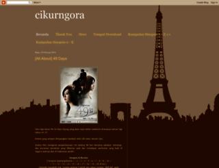 cikurngora.blogspot.com screenshot