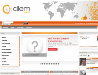 cilemhaber.com screenshot