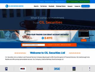 cilsecurities.com screenshot