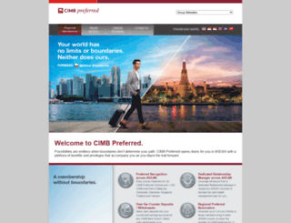 cimbpreferred.com screenshot