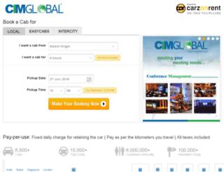 cimglobal.carzonrent.com screenshot