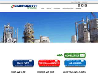 cimprogetti.com screenshot