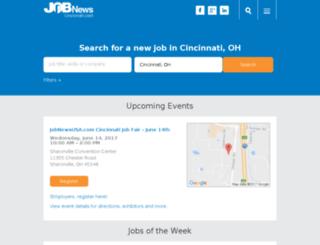 cincinnati.jobnewsusa.com screenshot