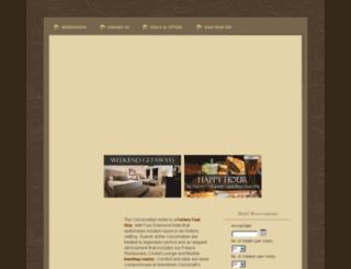 cincinnatianhotel.com screenshot
