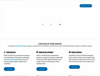 cincinnatiwebtec.com screenshot