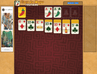 cincodemayosolitaire.com screenshot