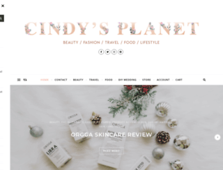 cindysplanet.com screenshot