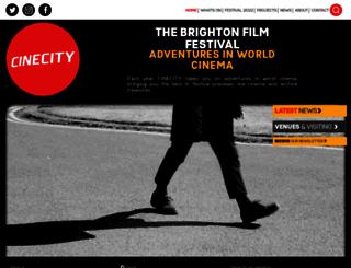 cine-city.co.uk screenshot
