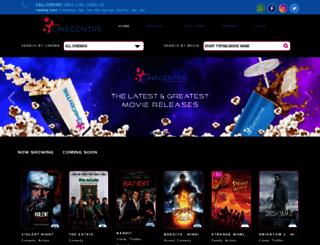 cinecentre.co.za screenshot