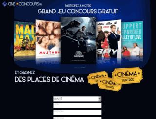 cineconcours.com screenshot