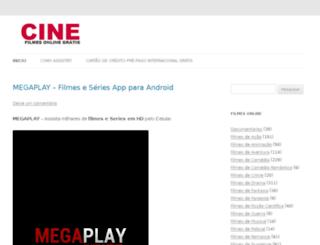 cinefilmesonlinegratis.com.br screenshot