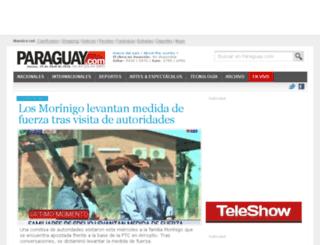 cinefiloz.paraguay.com screenshot