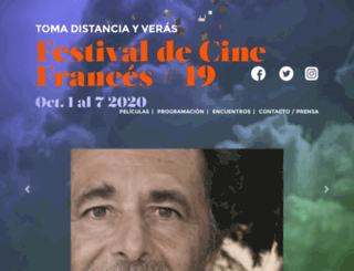 cinefrancesencolombia.com screenshot