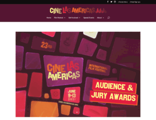 cinelasamericas.org screenshot