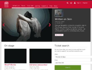 cinema.roh.org.uk screenshot