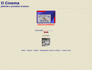 cinemacasa.it screenshot