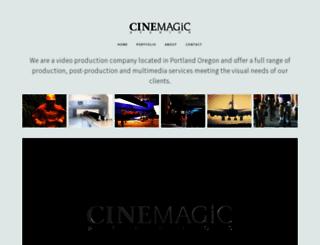 cinemagicstudios.com screenshot