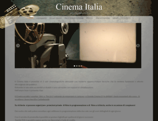 cinemaitaliapoggibonsi.it screenshot