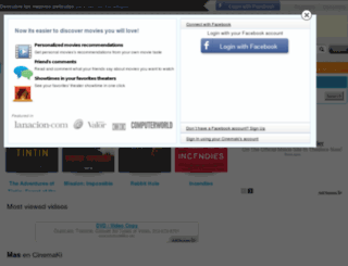 cinemaki.co.uk screenshot