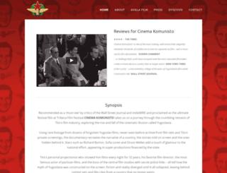 cinemakomunisto.com screenshot