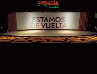 cinemania.com.co screenshot