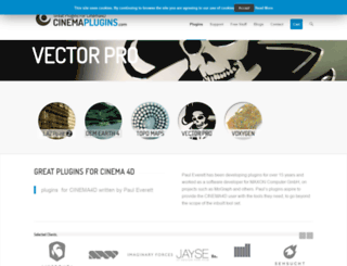 cinemaplugins.com screenshot