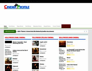 cinemaprofile.com screenshot