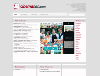 cinemasan.com screenshot