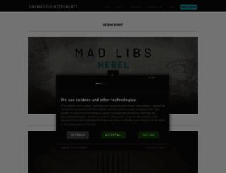 cinematique-instruments.com screenshot