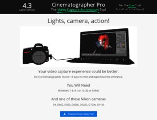 cinematographerpro.com screenshot
