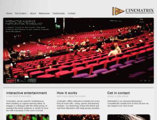 cinematrix.com screenshot