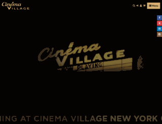 cinemavillage.com screenshot