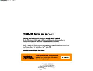 cinemur.fr screenshot