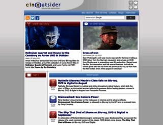 cineoutsider.com screenshot