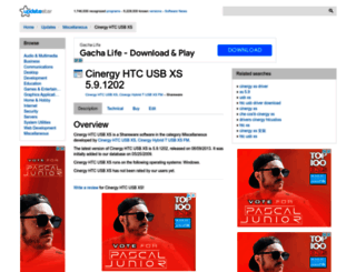 cinergy-htc-usb-xs.updatestar.com screenshot