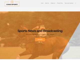 cinesport.com screenshot