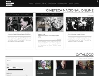 cinetecadigital.ccplm.cl screenshot