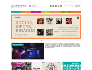 cinetecanacional.net screenshot