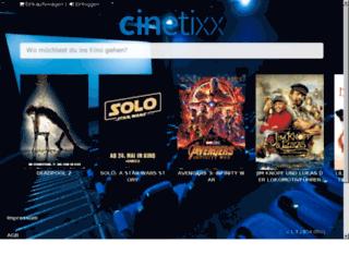 cinetixx.eu screenshot