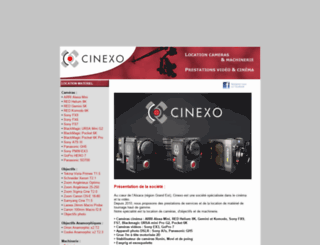 cinexo.fr screenshot