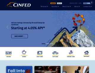 cinfed.com screenshot