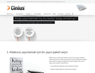 ciniusyayinlari.com screenshot