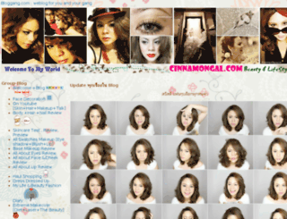 cinnamongal.bloggang.com screenshot
