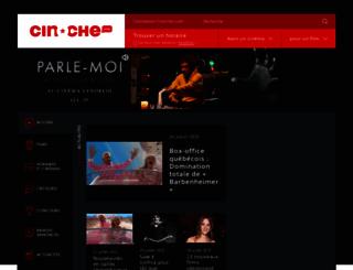 cinoche.com screenshot