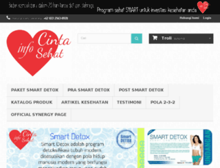 cintasehat.info screenshot