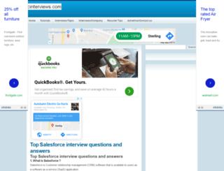 cinterviews.com screenshot