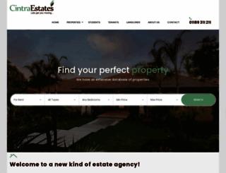 cintraestates.com screenshot