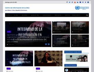 cinu.mx screenshot
